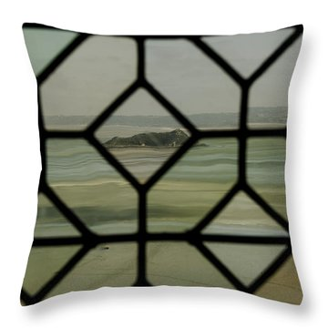 Throw Pillow featuring the photograph Mosaic Island by Marta Cavazos-Hernandez