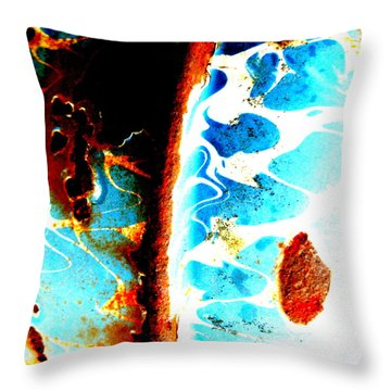 Throw Pillow featuring the photograph Moses' Part by Amy Sorrell