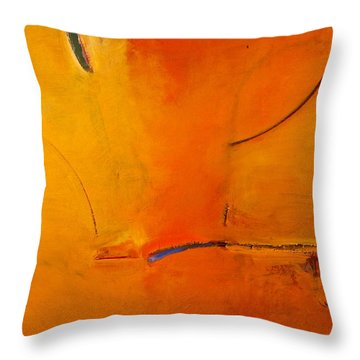 Most Like Lee Throw Pillow by Cliff Spohn