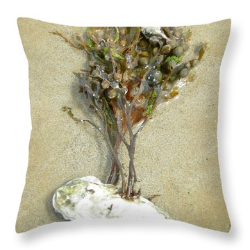 Mother Nature... The Only True Artist Throw Pillow