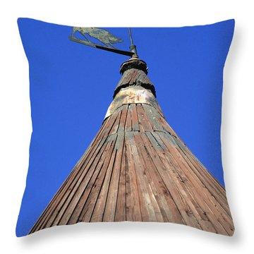 Moulin De Daudet. Fontvieille. Provence Throw Pillow by Bernard Jaubert