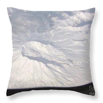 Mount St. Helens From Alk 458 Throw Pillow
