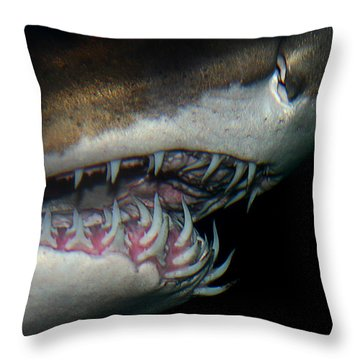Mouthy Throw Pillow