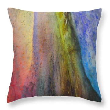 Throw Pillow featuring the digital art Move On by Richard Laeton