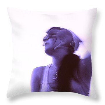Throw Pillow featuring the photograph Movement by Blair Stuart
