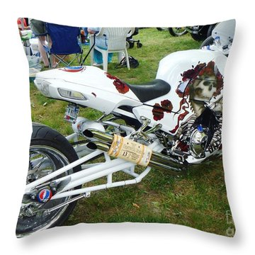 Mr Charlie Told Me So Throw Pillow by Alys Caviness-Gober