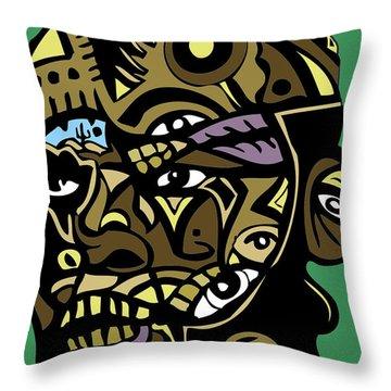 Mr-t-stjgfencil-446-p-picsay Throw Pillow by Kamoni Khem