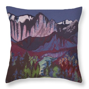 Mt Whitney Throw Pillow