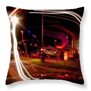 Munchies After 2 Throw Pillow by Peter Piatt