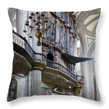 Throw Pillow featuring the photograph Music On High by Lynn Palmer