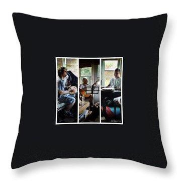 Musician Throw Pillows