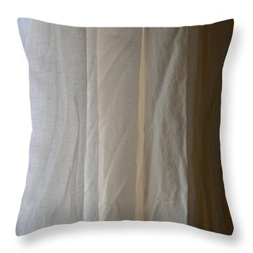 Muslin Morning Light Throw Pillow