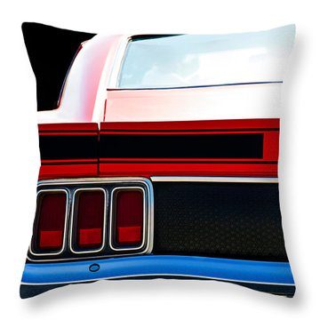Mustang Mach 1 Throw Pillow