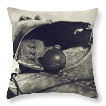 Muzzle Loader's Tools Throw Pillow