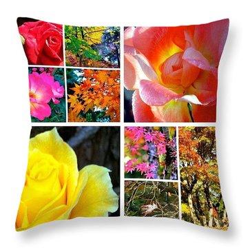 My #9ofpride Collage Throw Pillow