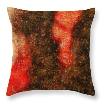 My Best Smile Throw Pillow