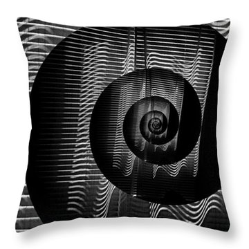 My Curtains Digitized  Throw Pillow