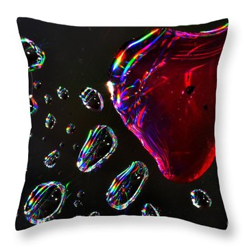 My Heart Throw Pillow by Sylvie Leandre