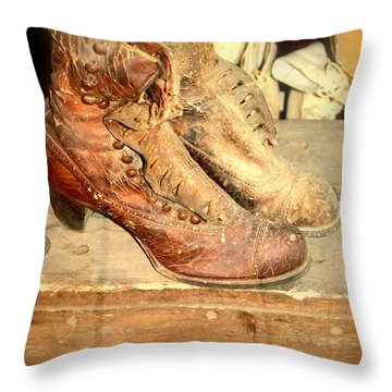 My Lady Throw Pillow