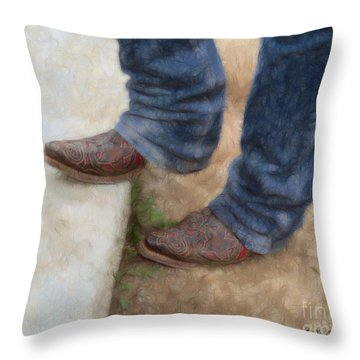 My Mamma Told Me. . .  Throw Pillow