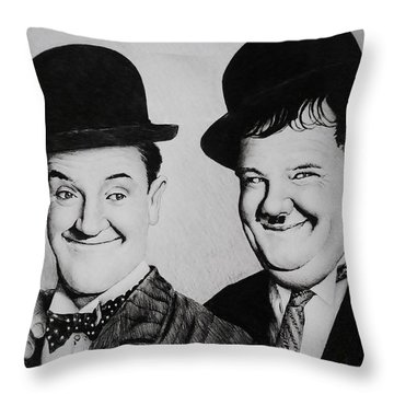 My Pal Throw Pillow by Andrew Read