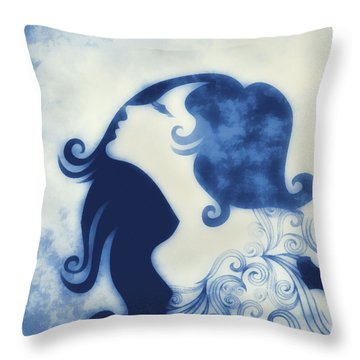My Prince Will Come For Me 2 Throw Pillow by Angelina Vick