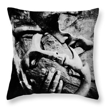 My Rock Throw Pillow by Empty Wall