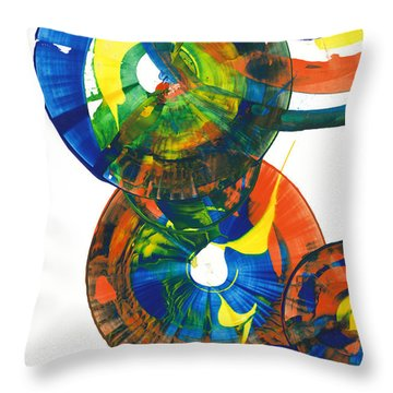 My Spherical Joy '' Jump Up ''  858.121711 Throw Pillow