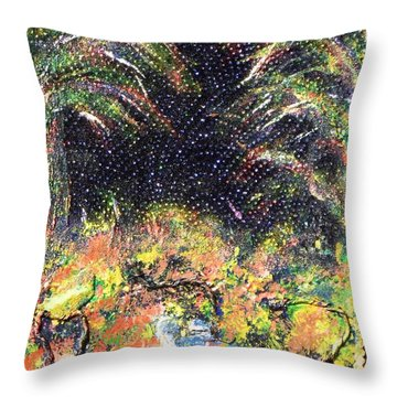 My Swamp Throw Pillow by Alys Caviness-Gober