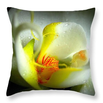 My True Self Throw Pillow by Shirley Sirois