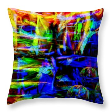 My Universe Throw Pillow by Angelina Vick