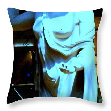 My Vegas Caesars 18 Throw Pillow by Randall Weidner