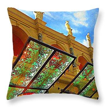 My Vegas Caesars 19 Throw Pillow by Randall Weidner