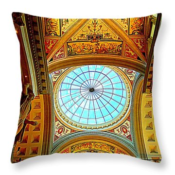 My Vegas Caesars 6 Throw Pillow by Randall Weidner