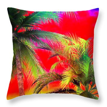 My Vegas Margaritaville 1 Throw Pillow