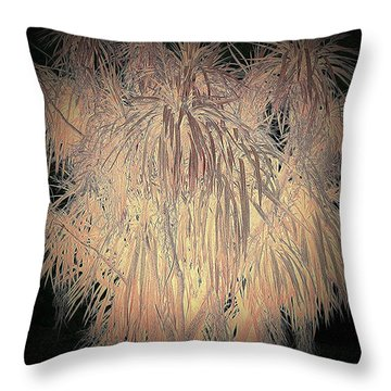 Throw Pillow featuring the photograph Mystery Garden 13 by Andrew Drozdowicz