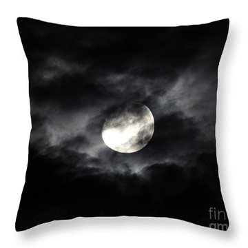 Mystic Moon Throw Pillow by Al Powell Photography USA