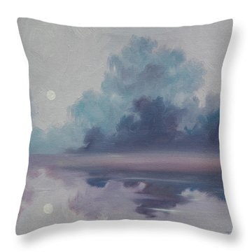Mystic Moonlight Throw Pillow by James Christopher Hill
