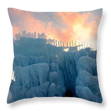 Mystic Time Throw Pillow