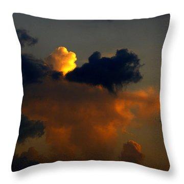 Mystical  Clouds Throw Pillow