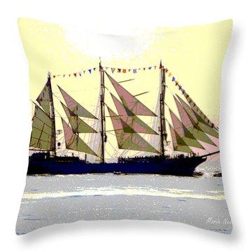 Mystical Voyage Throw Pillow