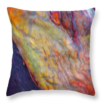 Throw Pillow featuring the digital art Mystics Of The Night by Richard Laeton