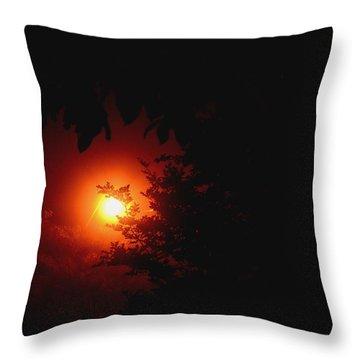 Mystifying Throw Pillow by Maria Urso