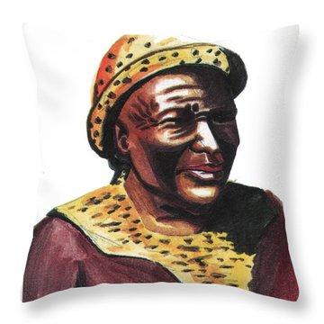 Mzilikazi Throw Pillow