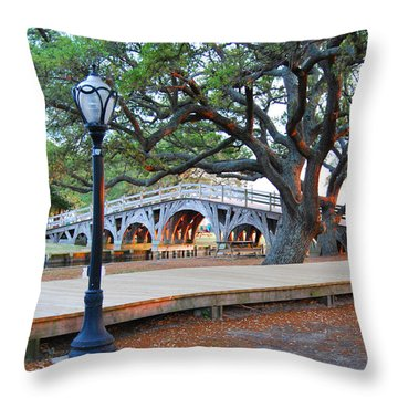 Narnia In Corolla Throw Pillow by Linda Mesibov