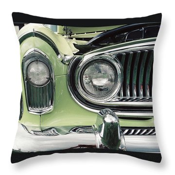 Throw Pillow featuring the photograph Nash Nose by John Schneider