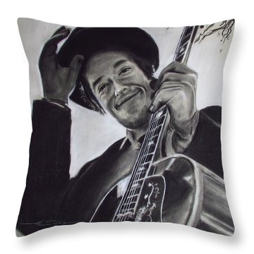 Nashville Skyline - Dylan Throw Pillow