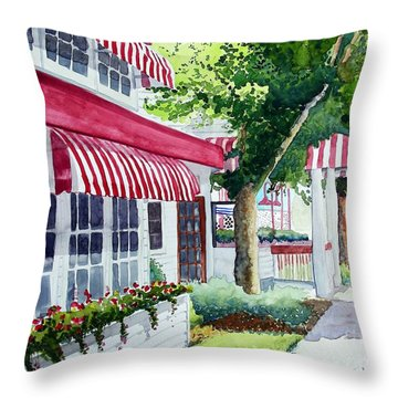 Nate's Throw Pillow by Tom Riggs