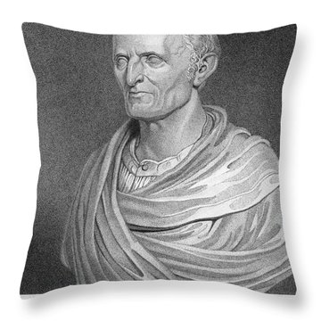 Nathaniel Bowditch Throw Pillow by Granger
