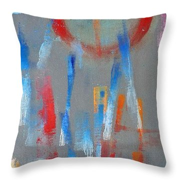 Native American Abstract Throw Pillow